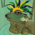 Mardi Gras Frog