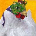 Mardi Gras Hen